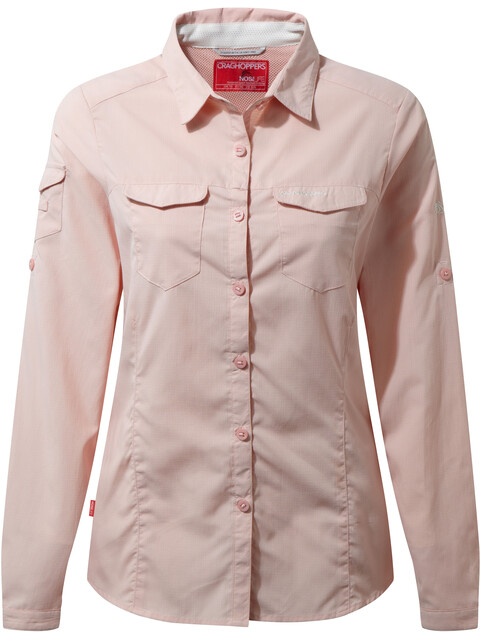 Craghoppers NosiLife Adventure Longsleeve Shirt Women Blossom Pink
